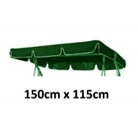 150cm x 115cm Replacement Swing Canopy with White Trim