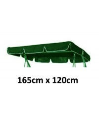 165cm x 120cm Replacement Swing Canopy with White Trim