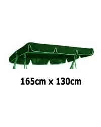 165cm x 130cm Replacement Swing Canopy with White Trim