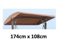 174cm x 108cm Replacement Canopy with Rounded Roof