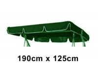 190cm x 125cm Replacement Swing Canopy with White Trim