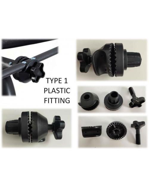 Swing Frame Plastic Fitting type 1 (Pair)