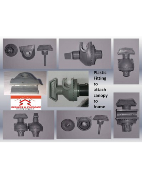 Swing Frame Plastic Fitting type 1 (Pair)