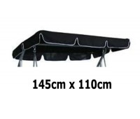 145cm x 110cm Replacement Swing Canopy with White Trim