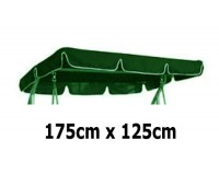 175cm x 125cm Replacement Swing Canopy with White Trim