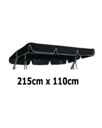 215cm x 110cm Replacement Swing Canopy with White Trim