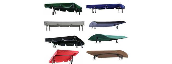 Canopy Banner 1  sc 1 th 137 & Replacement Swing Canopies for Garden Swings and Seats and Heavy ...