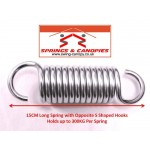 Strong Spring 15cm 13-Coil 'S' Shaped