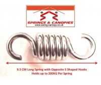 Strong Spring 9.5cm 5-Coil S Shaped