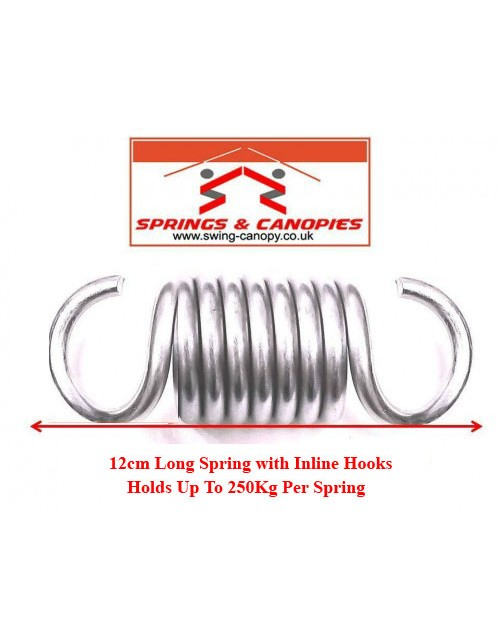 Strong Spring 12cm 8-Coil Inline Hooks