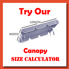 Calculator  sc 1 th 225 & Replacement Swing Canopies for Garden Swings and Seats and Heavy ...