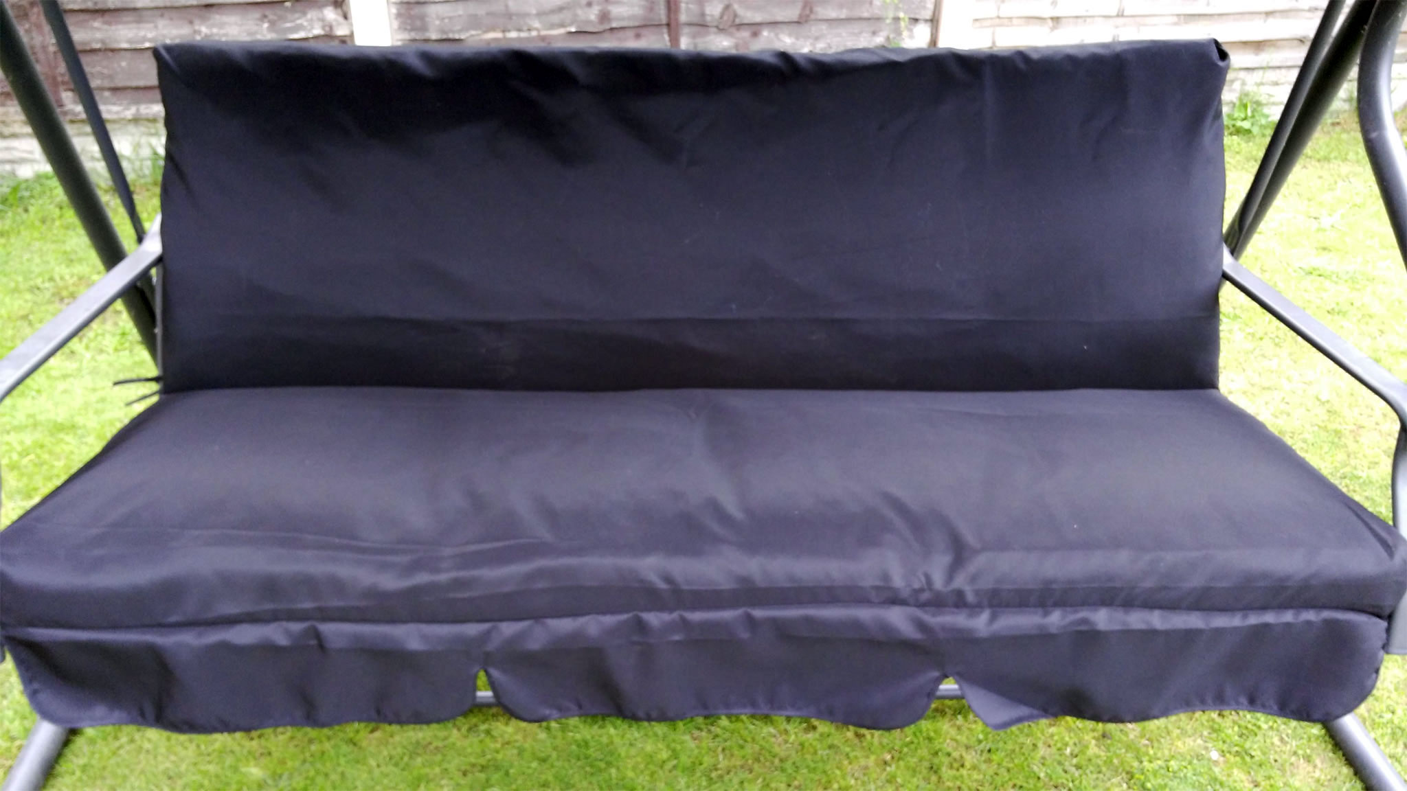 CUSHION COVERS & Replacement Swing Canopies for Garden Swings and Seats and Heavy ...