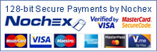 Credit and debit cards secured by Nochex
